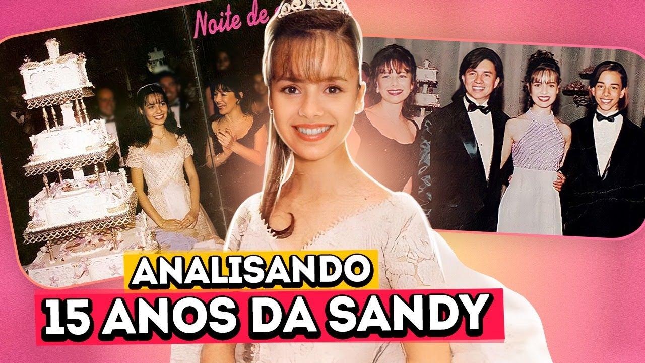 O ANIVERSÁRIO DE 15 ANOS DA SANDY   Diva Depressão