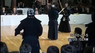 京都大会_寺地兄弟の対上段の立合(2017種寿先生、2010賢二郎先生)
