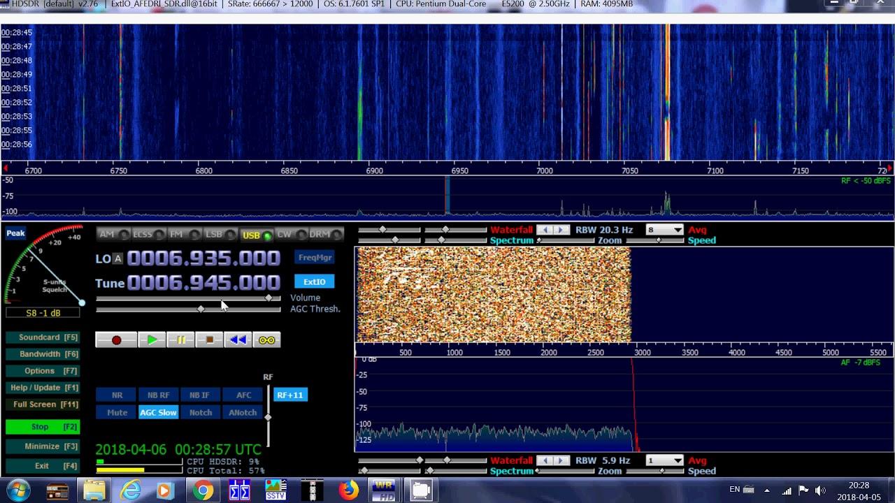 Unidentified pirate radio station 6945 Khz USB Shortwave - Love Visit &  Explore London
