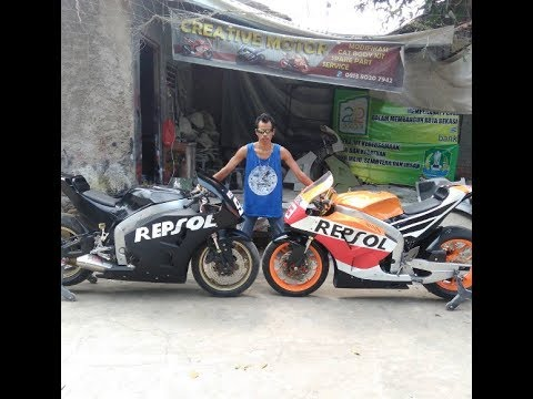 MODIFIKASI MotoGp By Creative Custom / Motorcycle Modification Like MotoGp By Creative Custom