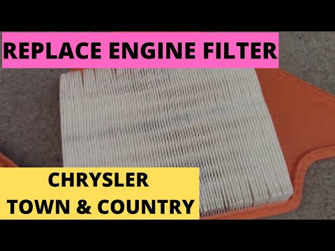 "How to Replace ""Engine Filter 2011-2014 Chrysler Town & Country"" (DIY)"