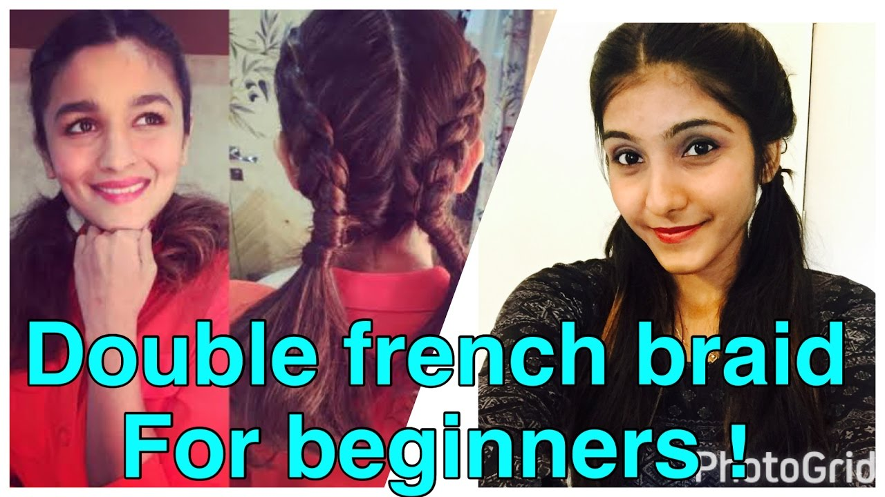 Dutch Braid On Your Own Hair !! So Easy In 5mins !! 2  Hairstyles !