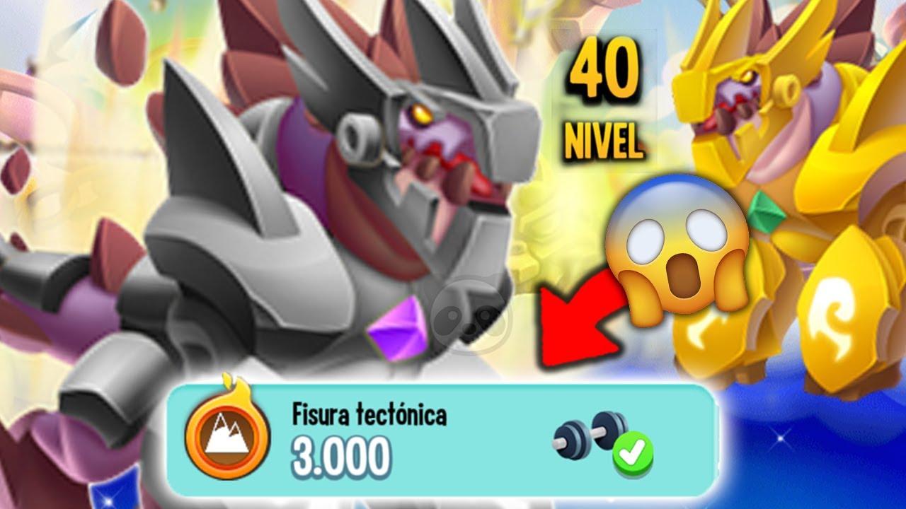 MI NUEVO NOBLE DRAGÓN TECTÓNICO NIVEL 40 !! Dragon City