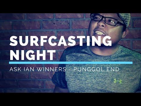 Punggol Beach Surfcasting Night - ASK IAN - By (PATV Productions)