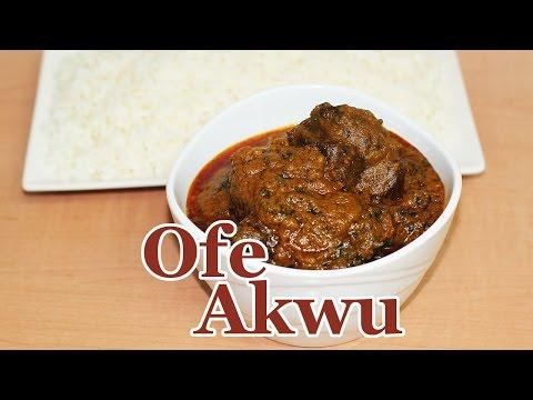 Ofe Akwu (Banga Stew) with Tinned Banga | All Nigerian Recipes
