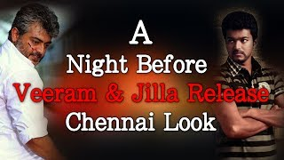 A Night before Veeram and Jilla Release - Chennai Look - Red Pix 24x7