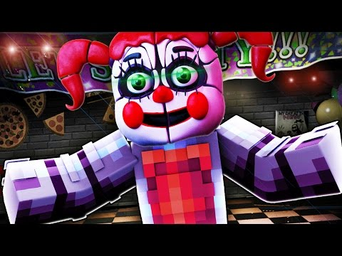 FNAF Sister Location - MURDER!? (Minecraft Roleplay) Night 1