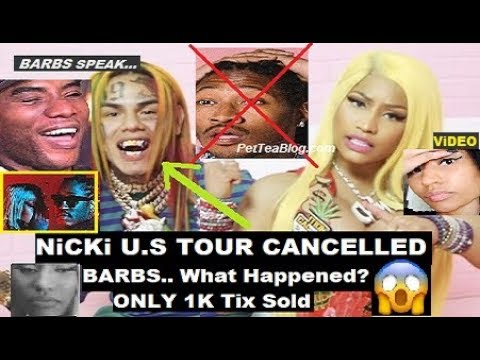 Nicki Minaj Cancels Tour w/ Future, 6ix9ine to Blame & Barbs are BROKE says Charlamagne ☕