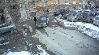 Стрельба на Пушкина, камера наблюдения