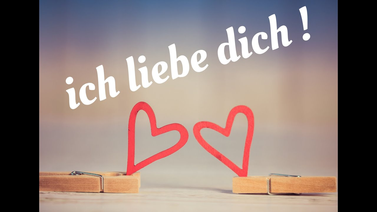How to say I Love You in German ( Love expressions in