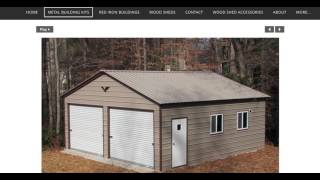 This video goes over the process of purchasing a tube formed metal building kit. For more information go to americanbuildingoutlet.