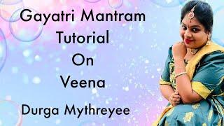 How to play Gayatri mantram on veena | Tutorial 2