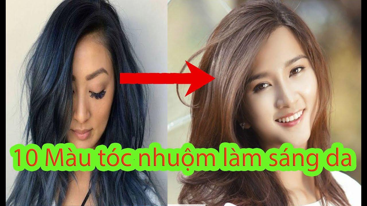 10 kiểu tóc nhuộm làm sáng da 2021 I tóc nữ 2021 đẹp mới nhất | Tổng hợp những kiểu tóc nữ đẹp mới nhất