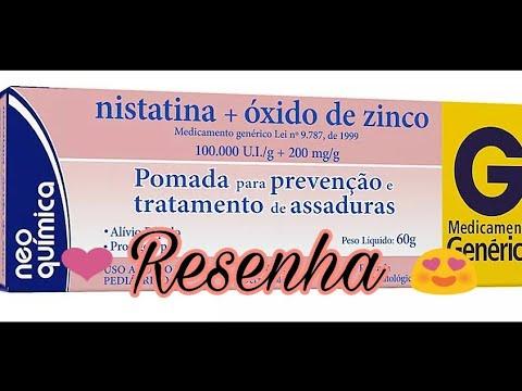 Pomada Nistatina Oxido De Zinco Minha Opiniao Andressa Lima Youtube