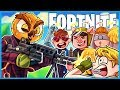 GETTING VANOSS A VICTORY ROYALE in Fortnite: Battle Royale! (Fortnite Funny Moments & Fails)