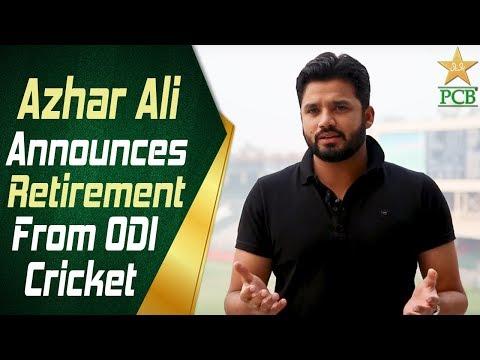 Azhar Ali announces retirement from ODI cricket | PCB