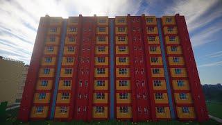 Город в Minecraft - 55 - Детский сад(Карта - https://yadi.sk/d/bkJmGUhpbuehy Подпишись и поставь лайк :) Группа - http://vk.com/1skeletor1 ..., 2014-10-09T19:20:42.000Z)