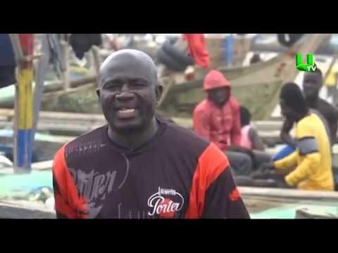 AYEKOO: Fishing Activities At James Town In Accra