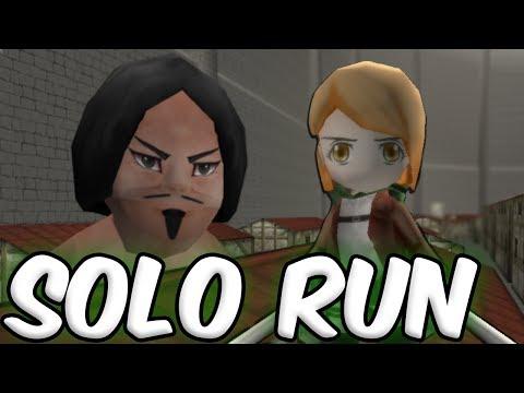 BEST CRAWLER KILL EVER. - Attack On Titan Tribute Game Solo Run (2)
