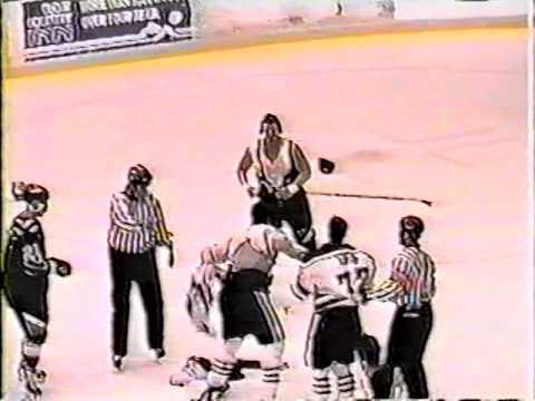 Justin McPolin vs Clint Collins ECHL Feb 20/98