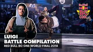 BBoy Luigi - kompilacja setów | Red Bull BC One World Final 2018