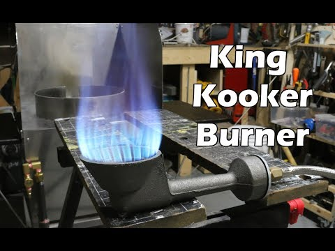King Kooker WKAF1B High Pressure Burner Overview