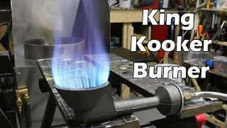 King Kooker WKAF1B High Pressure Burner Overview
