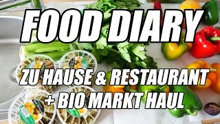 FULL DAY OF EATING #3 VEGAN + Bio Markt Shopping Haul | FITNESS-ID.DE