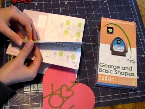 Papercraft George and Basic Shapes Cricut Review
