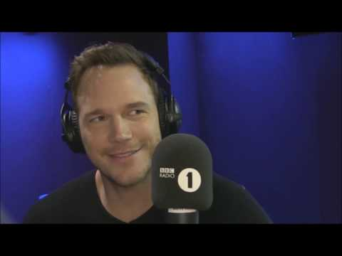 Chris Pratt Grimmy BBC Radio 1 2017