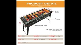 Portable BBQ Grills for sale (Model: DS-0405)