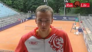 Теннис Даниил Медведев о победе в Берлине Интервью
