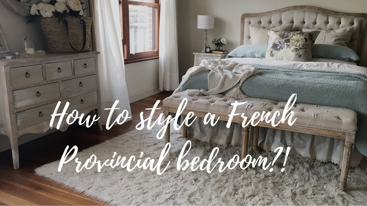 Amira\'s Lifestyle Guide- How to style a \'French Provincial\' bedroom!