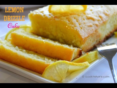 Luscious Lemon Drizzle Cake - Baked in 30 Minutes