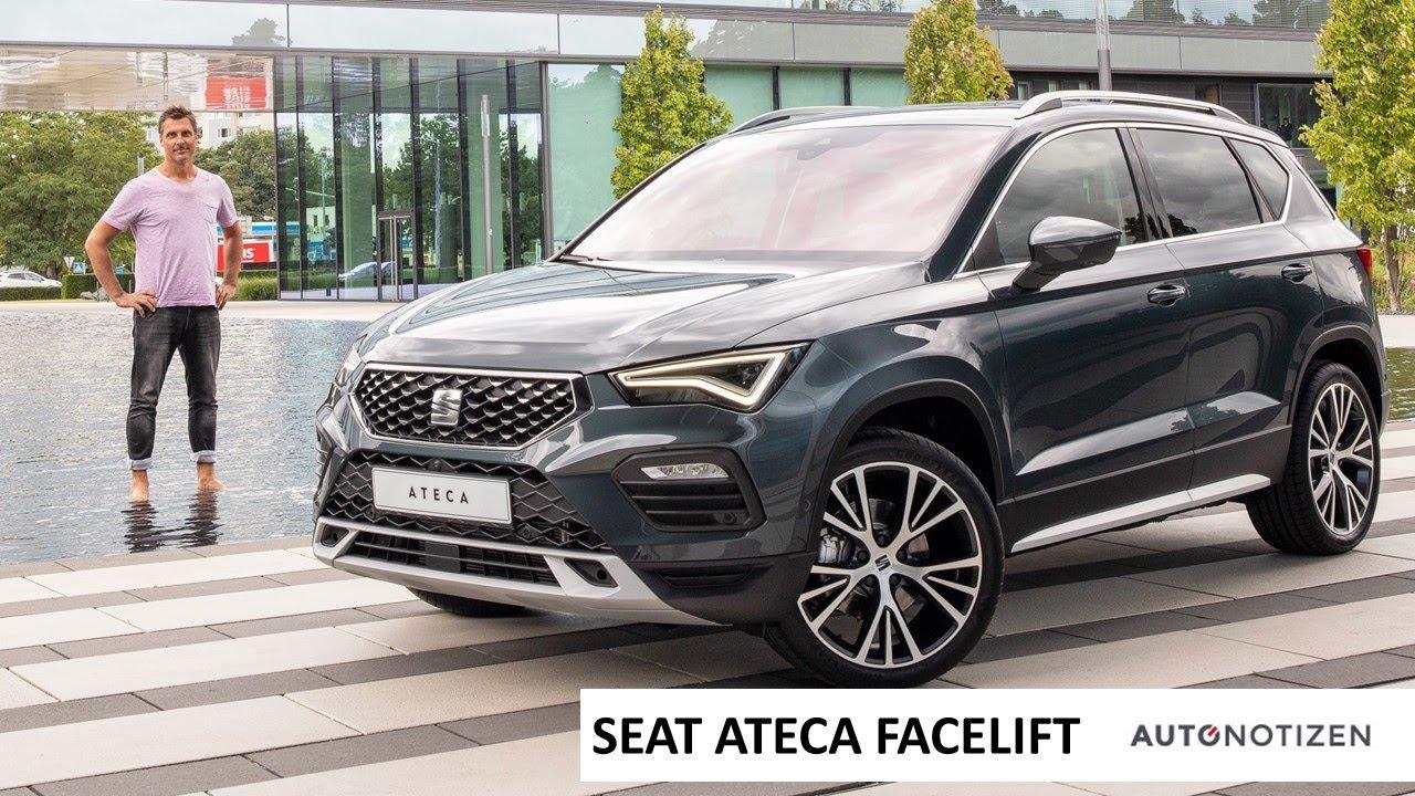 seat ateca facelift 2021 vorstellung review mit