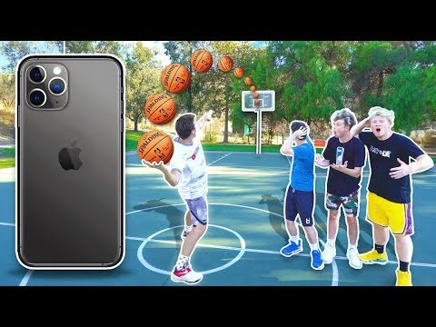 Make The Shot, I'll Buy You *NEW* Iphone 11 Max!