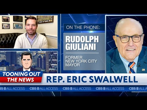Rep. Eric Swalwell and James Smartwood call Rudy Giuliani to talk Stain-Gate