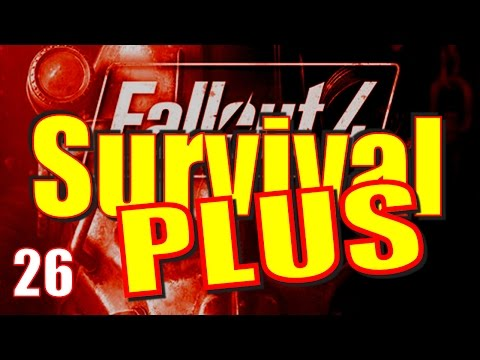 Fallout 4 Survival Mode Walkthrough Part 26 - Crater of the Atom, Virgil's Lab & Greenetech Prep