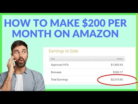 How To Make $200 Dollars/Month On Amazon (EASY)