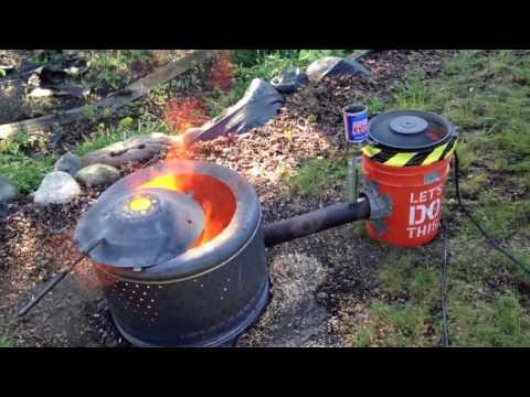 Waste Oil Stump Burner