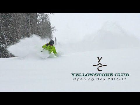 Opening Day Winter 2016-17 at Yellowstone Club