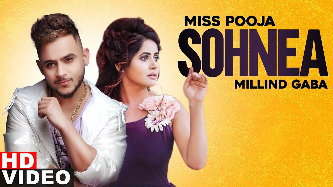 Sohnea | Miss Pooja ft Millind Gaba |  Latest Punjabi Songs 2020| Speed Records