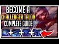 The ONLY S9 Talon Guide you NEED l BEST TALON NA l The Best Combos, Runes, and Builds