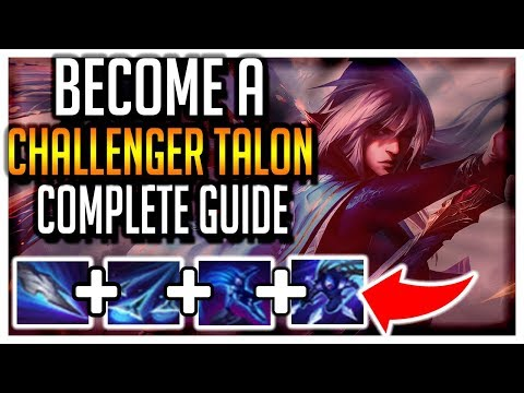 The ONLY S10 Talon Guide You NEED L BEST TALON NA L The Best Combos, Runes, And Builds