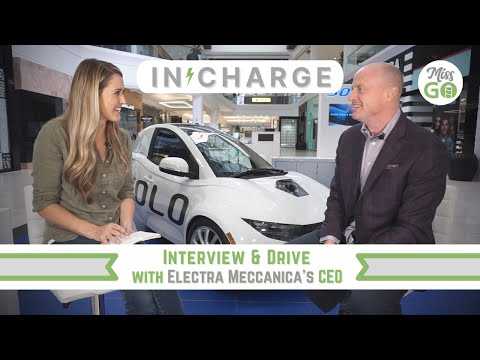 First Drive in the ElectraMeccanica Solo three-wheel EV and an Interview with CEO!