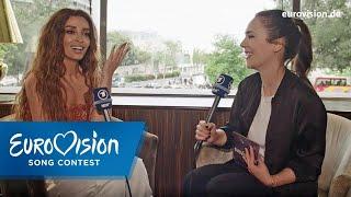 Eleni Foureira ist süchtig nach Sonne | Zypern | Interview | Eurovision Song Contest