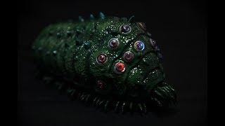 バンダイのプラモデルです。風の谷のナウシカ、王蟲にLEDを組み込みました。ゆっくりと目を点滅させています。