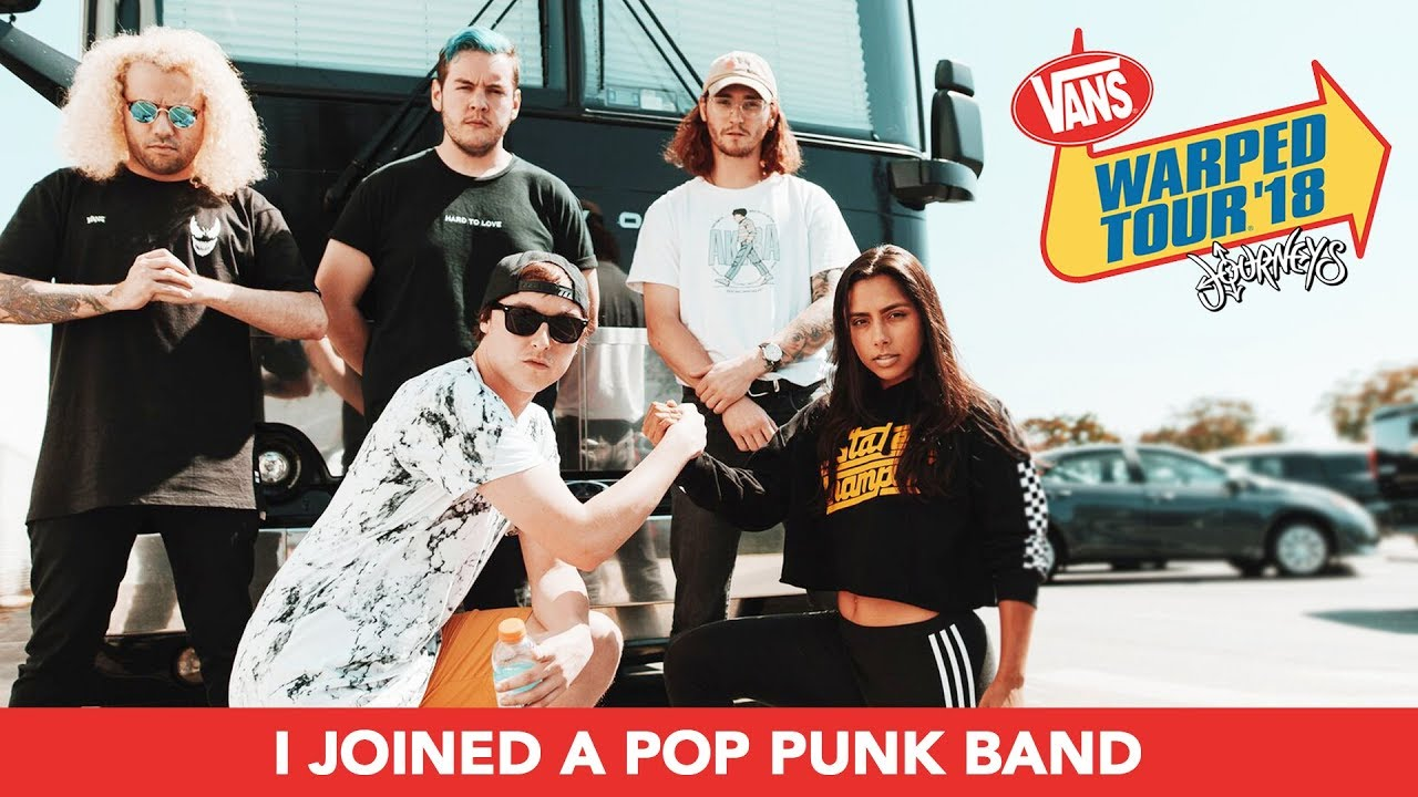 I Joined A Pop Punk Band For A Week