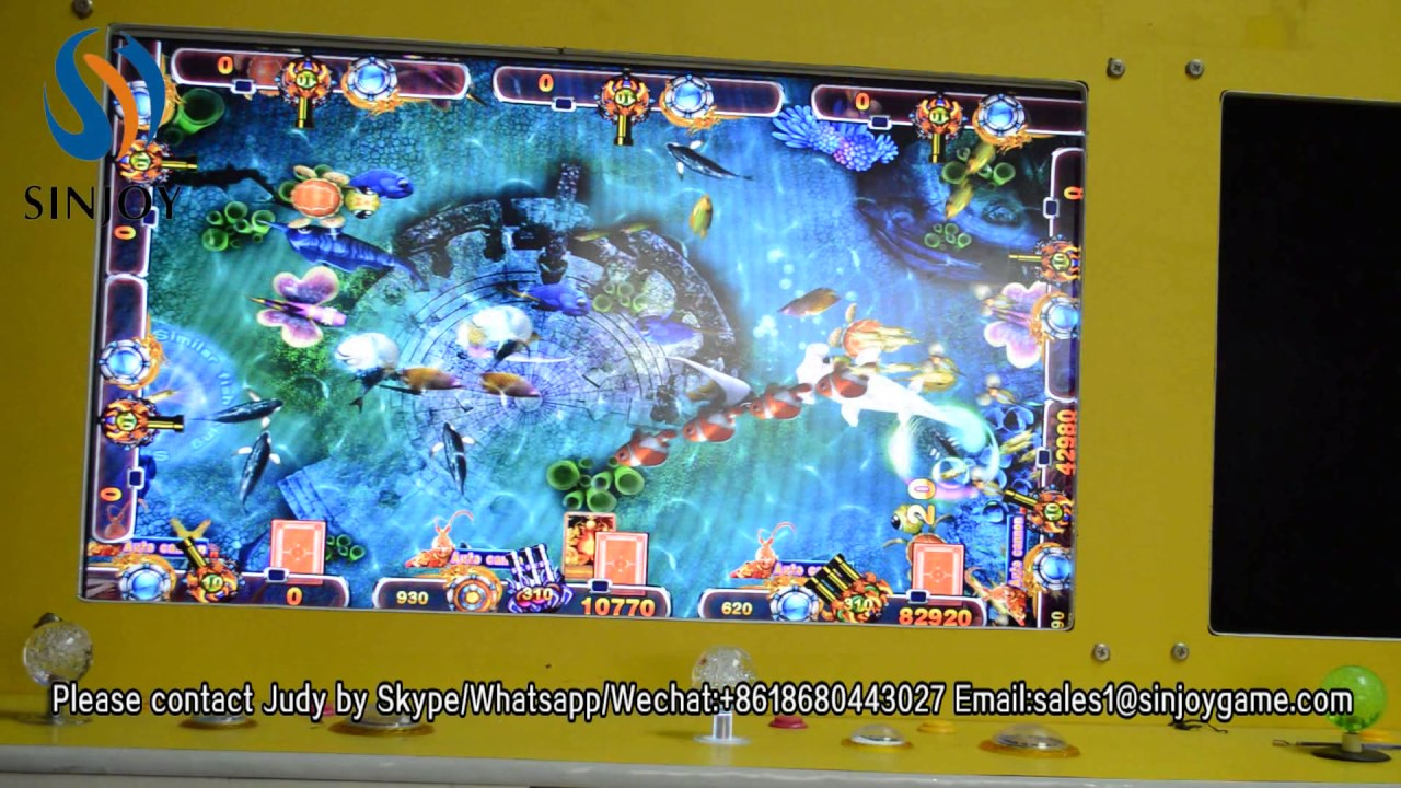 Bull fight Shooting fish table game tiger strike fish game Gambling  machines for sale