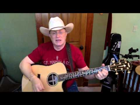 55b -  Here In The Real World  - Alan Jackson vocal & acoustic guitar cover & chords